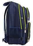 Рюкзак школьный ортопедический YES S-30 Juno YES green код: 557366, фото 2