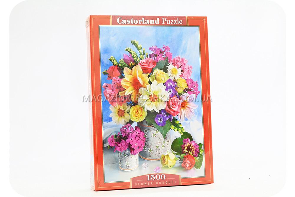 Пазл Букет цветов - 1500 элементов