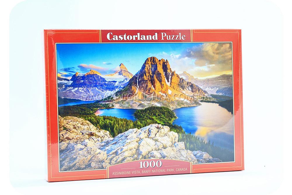 Пазл Гора Ассинибойн, Канада - 1000 элементов