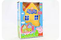 Игровой набор «Домик Свинки Пеппы» (4 фигурки) XZ-407, фото 1