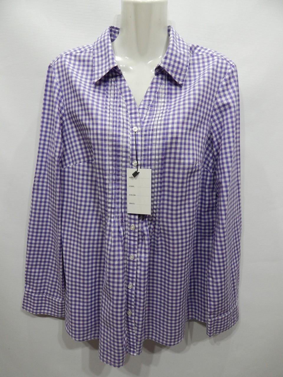 Блуза-рубашка фирменная женская TCM (хлопок) р.50-52  174бж