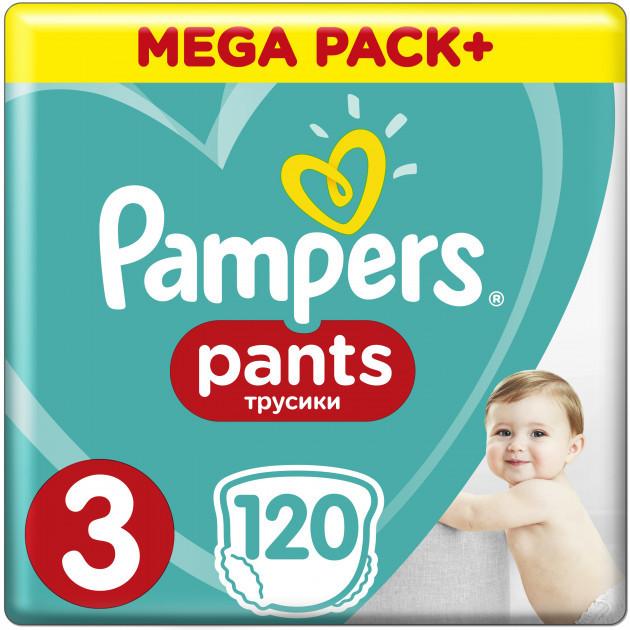 Підгузки-трусики Pampers Pants 3 (6-11кг), 120шт