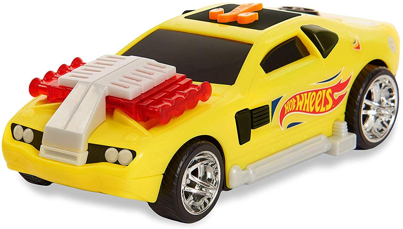 Hot Wheels Машинка свет звук 98007 Poppin Wheelie Cars Hollowback