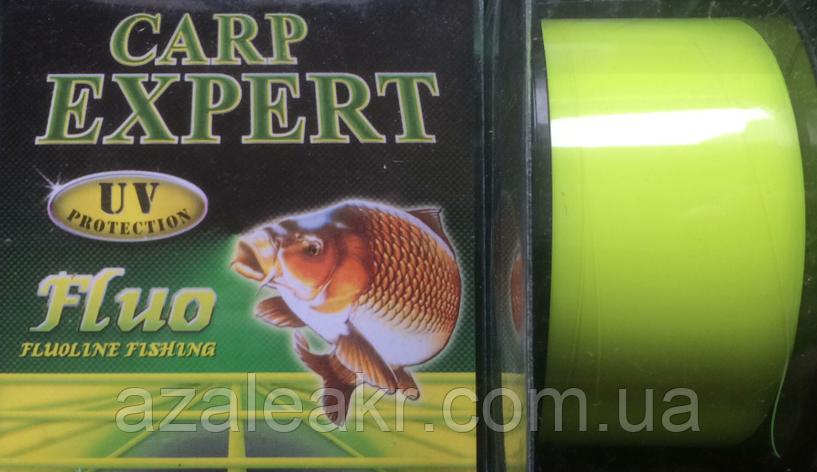 Леска Energofish Carp Expert (original)UV Fluo Yellow 300 м 0.25 мм 8.9 кг, фото 2