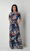 Красивое легкое платье размеры 44-46