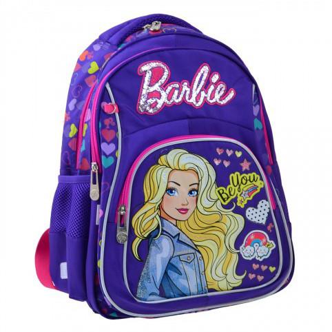 Рюкзак школьный YES S-21 Barbie 40*29*12.5 код: 555267