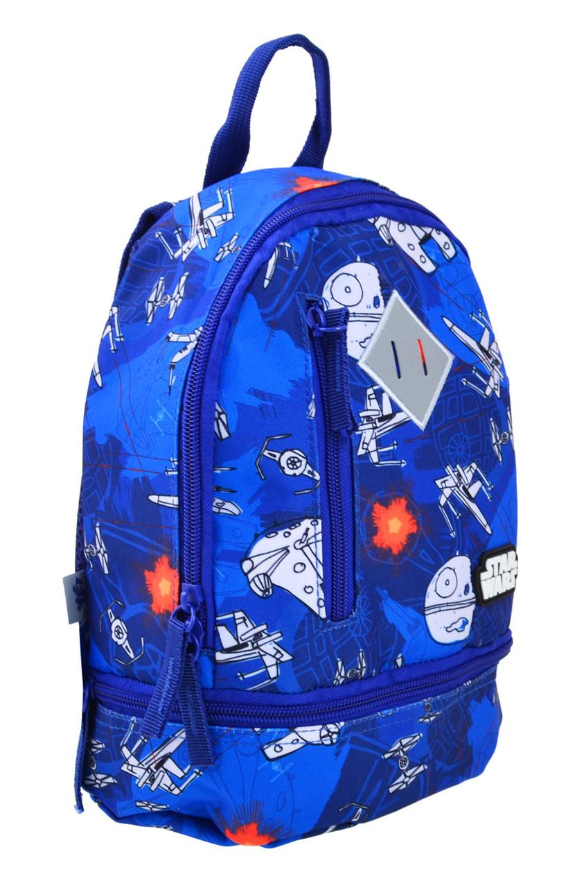 Рюкзак детский дошкольный YES K-21 Star Wars 27*21.5*11.5 код: 555316