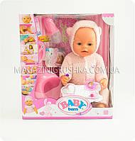 Пупс BABY BORN с аксессуарами и одеждой (8 функций) BL012D-S, фото 1