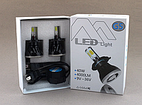 Автолампы светодиодные G5 LED H440W 6000K  c цоколем H4 (2 штуки)