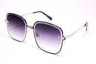 Солнцезащитные женские очки Шанель 9134 C1 реплика Фиолетовые с градиентом