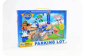 Парковка-гараж «Робокар Поли» (парковка + 4 машинки)