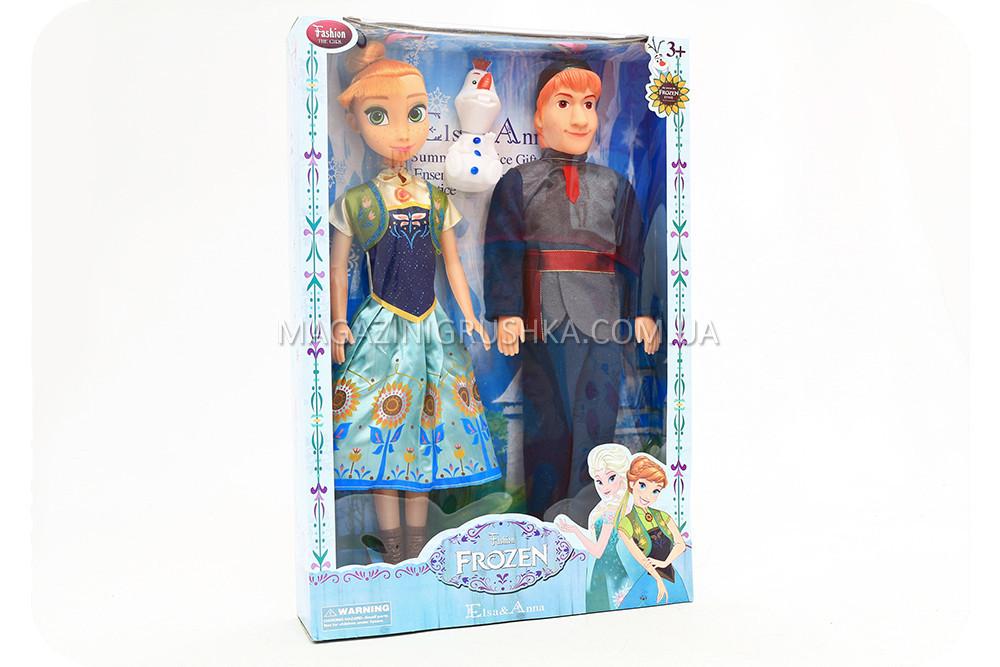 Куклы «Холодное сердце» - Эльза и Кристофф F316EF