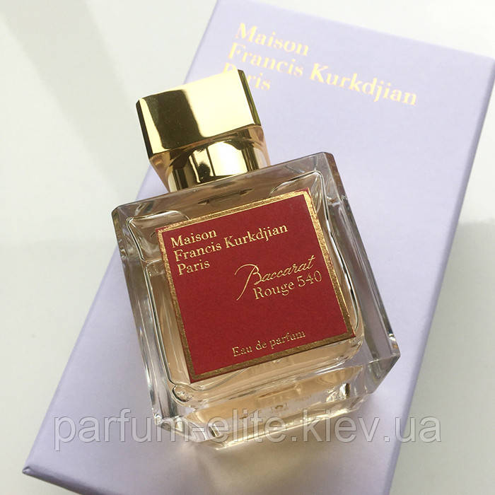 Мужская нишевая парфюмированная вода Maison Francis Kurkdjian Baccarat Rouge 540 70ml