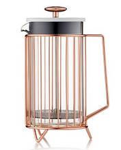 Френч-пресс Corral Electric Copper Barista & Co 1000 мл Медный 9BC036-003)