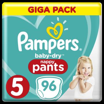 Підгузки-трусики Pampers Pants 5 (12-17кг), 96шт