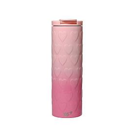 Термочашка YES Pink Heart 420 мл код: 707336