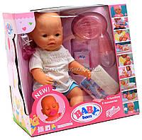Интерактивная кукла Baby Born (беби бон). Пупс аналог с одеждой и аксессуарами 9 функций беби борн BB 8009-440, фото 1