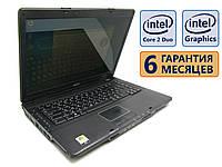 Ноутбук Acer Extensa 5230 15.4 (1280x800)/ Core 2 Duo T5750 (2x2.0 GHz)/ RAM 4GB/ HDD 250GB/ АКБ 14Wh/ Сост. 8.5/10 БУ