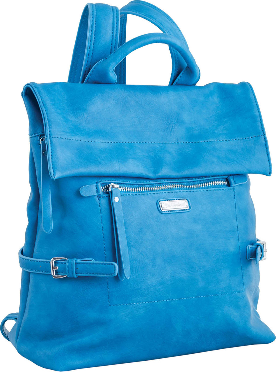 Сумка-рюкзак YES, морская волна, 29*33*15см , код: 553220
