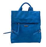 Сумка-рюкзак YES, морская волна, 29*33*15см , код: 553220, фото 3