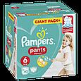 Підгузки-трусики Pampers Pants 6 (15+кг), 60шт, фото 3