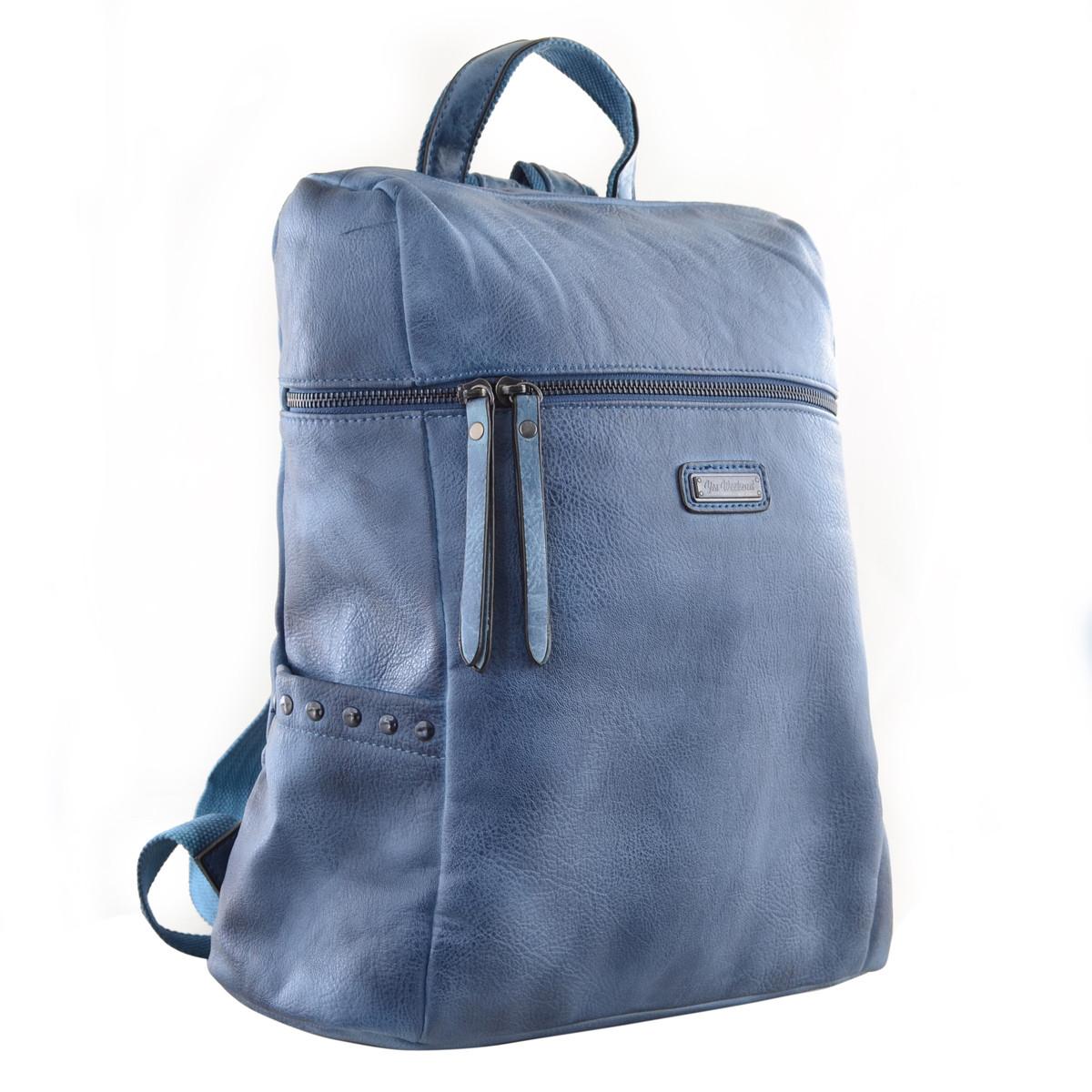 Рюкзак молодёжный YES YW-23 32*34.5*14 синий код: 555866