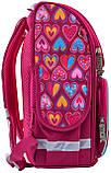 Рюкзак школьный ортопедический каркасный Smart PG-11 Hearts Style код: 555920, фото 4