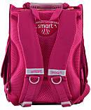 Рюкзак школьный ортопедический каркасный Smart PG-11 Hearts Style код: 555920, фото 5