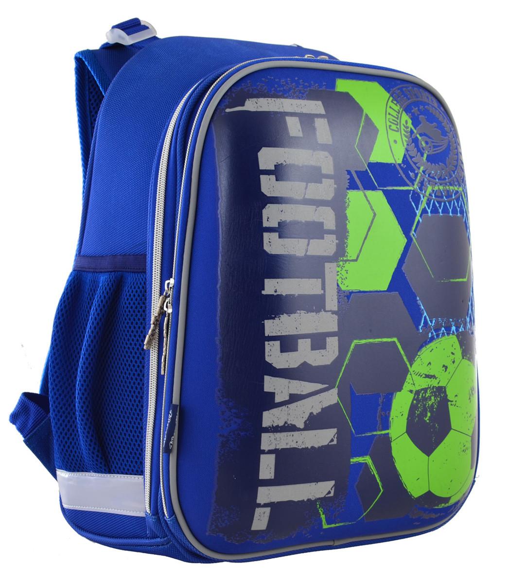 Рюкзак школьный ортопедический каркасный 1 Вересня H-12 Football код: 555946