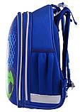 Рюкзак школьный ортопедический каркасный 1 Вересня H-12 Football код: 555946, фото 2