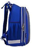 Рюкзак школьный ортопедический каркасный 1 Вересня H-12 Football код: 555946, фото 5