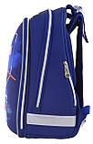 Рюкзак школьный ортопедический каркасный 1 Вересня H-12 Star Explorer код: 555960, фото 3