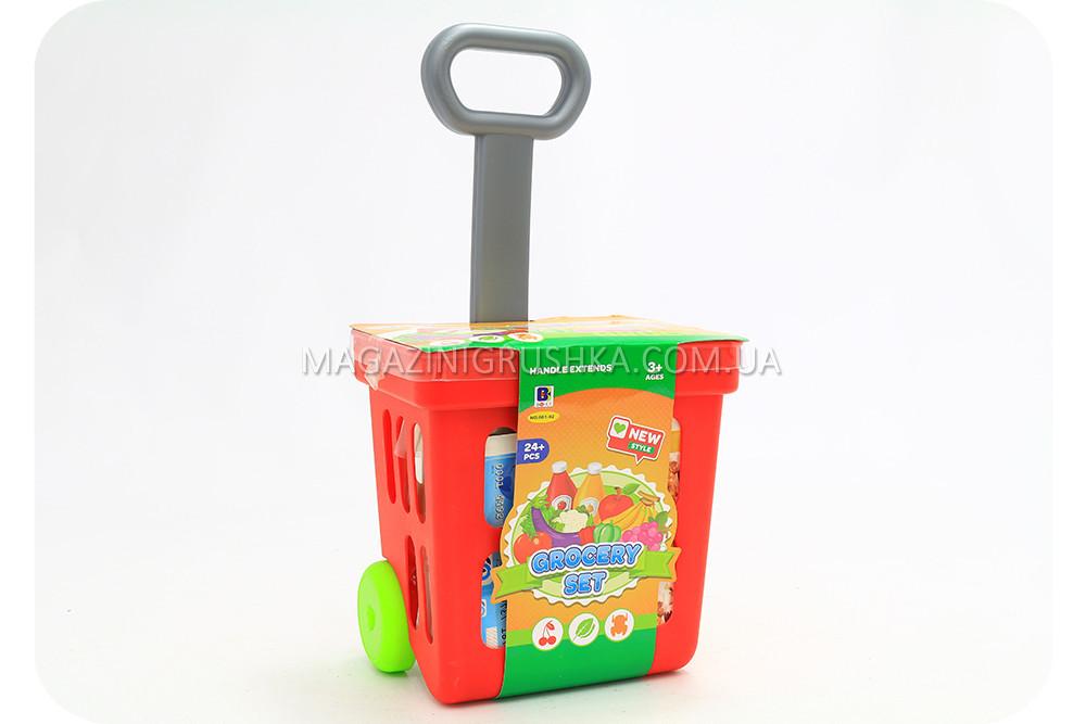 Игровой набор детский «Тележка с фруктами»