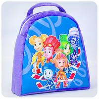 Рюкзак «Фиксики» - сине-фиолетовый