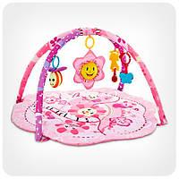 Коврик для младенца «Цветочек» (подвески, муз.), фото 1