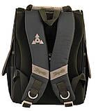 Рюкзак школьный ортопедический каркасный 1 Вересня H-11 Tmnt код: 556157, фото 2