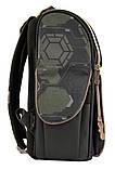 Рюкзак школьный ортопедический каркасный 1 Вересня H-11 Tmnt код: 556157, фото 3