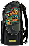 Рюкзак школьный ортопедический каркасный 1 Вересня H-11 Tmnt код: 556157, фото 5