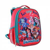 Рюкзак школьный ортопедический каркасный YES H-25 Enchantimals код: 556179