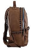 Рюкзак женский YES YW-15, светло-коричневый , код: 556948, фото 4