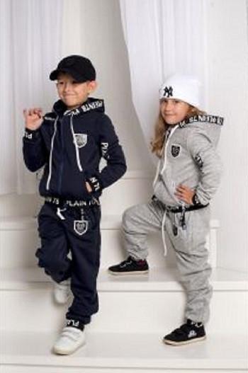 Спортивные и прогулочные детские костюмы