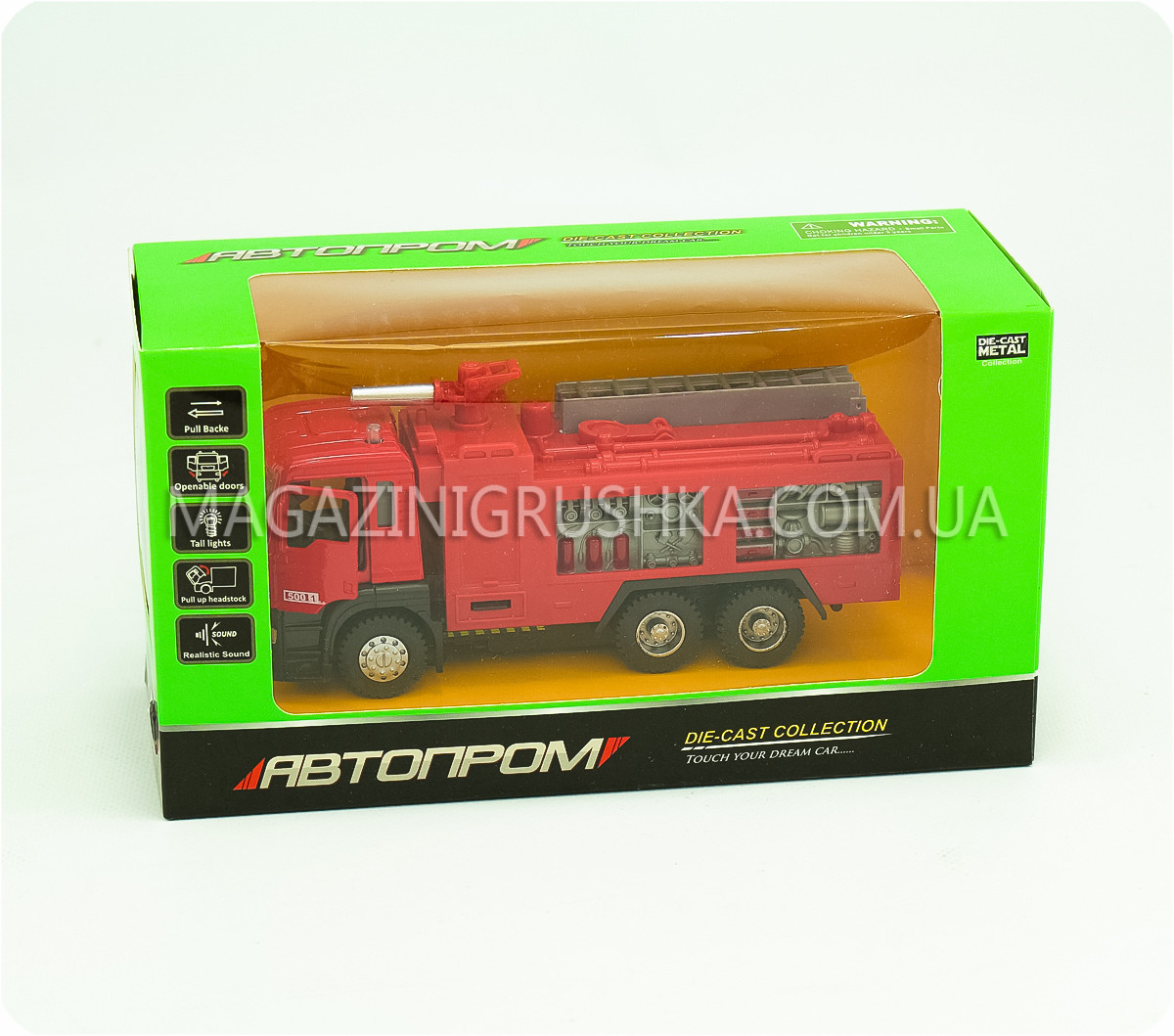 Машинка ігрова автопром «Пожежна машина» 5001