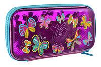 "Пенал твердый YES пластиковый 3D HP-07 ""Butterflies"" , код: 532320"