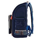Рюкзак школьный ортопедический каркасный YES H-18 Racing код: 556321, фото 2