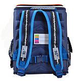 Рюкзак школьный ортопедический каркасный YES H-18 Racing код: 556321, фото 3