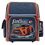 Рюкзак школьный ортопедический каркасный YES H-18 Racing код: 556321, фото 5