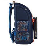 Рюкзак школьный ортопедический каркасный YES H-18 Racing код: 556321, фото 6