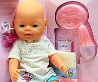 Интерактивная кукла Baby Born (беби бон). Пупс аналог с одеждой и аксессуарами 9 функций беби борн BB 8009-440, фото 4
