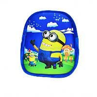 Рюкзачок детский 3D «Миньон» арт.040099
