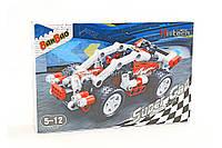 Конструктор BanBao «Гоночный автомобиль» - 138 деталей